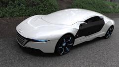 Audi A9 Concept Designed By Daniel Garcia