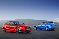Compact top athletes Audi RS 3 Sedan and RS 3 Sportback