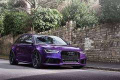 Audi RS6 Audi RS4 Avant Purple ADV 1 ADV 1 Wheels Quattro