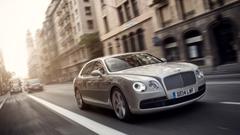Wallpapers Bentley Flying Spur sedan luxery grey Cars Bikes