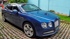 Blue Bentley Flying Spur W12 Wallpapers Car Pictures Website