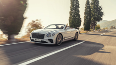 Bentley Continental GT Convertible Debuts Below The Radar With