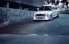 bmw e30 m3 bmw tuning stance white HD wallpapers