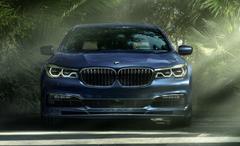 BMW Alpina B7 xDrive cars sedan blue modified wallpapers