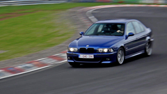 BMW M5 E39 LOUD Sounds at the N rburgring