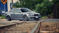 Bmw cars vehicles track m3 e46 wallpapers