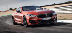 BMW 8 Series test drive