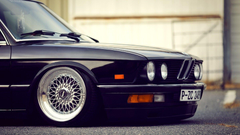 SimplyWallpapers 7 series BMW BMW E28 E28 Slammed desktop