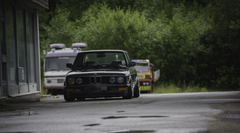 BMW E28 Stance Stanceworks Low Norway Summer Rain Wallpapers