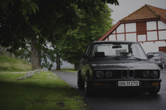 BMW E28 Norway Summer Rain Stance Stanceworks Low Wallpapers