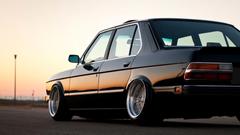 SimplyWallpapers BMW BMW E28 dope stance summer desktop