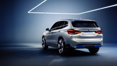 Wallpapers BMW iX3 electric cars 8k Cars Bikes
