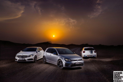 Volkswagen Golf R vs BMW M135i vs Mercedes A 45 AMG Set 2