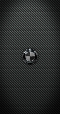 Carbon Fiber BMW and M Power iPhone wallpapers for iPhone 6 Plus