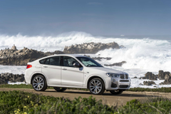 The new BMW X4 M40i