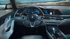 BMW Concept X7 iPerformance Interior 4K Wallpapers
