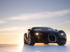 Bugatti Veyron On The Road Wallpapers Wallpapers