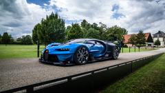 Bugatti Car Hd Wallpapers Elegant Bugatti Chiron Vision Gran