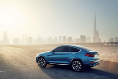 New Photo Gallery of BMW s Sporty Looking X4 Crossover Concept