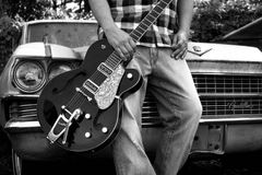Gretsch and Cadillac wallpapers from Guitar Wallpapers wallpapers