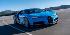 Bugatti Chiron Car Superb Front View Wallpapers