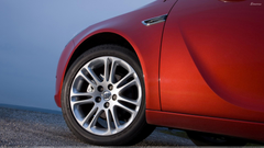 Tyre Closeup Of 2008 Buick Regal 2 0 Turbo In Red Wallpapers