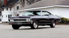 hardtop coupe chevrolet impala coupe