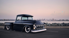 Stella Doug Cerri s 1957 Chevy 3100 Pickup Slam d Mag