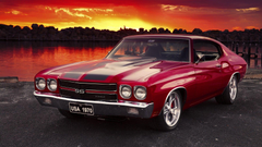 SimplyWallpapers Chevrolet Chevelle SS cars chevy desktop
