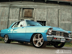 Chevrolet Nova muscle cars hot rods wallpapers