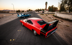 Wallpapers Dodge charger daytona Rear view Style HD