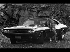 Dodge Challenger Black Wallpaper Cool Dodge With Dodge Challenger