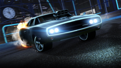 Wallpapers Dodge Charger Fast Furious Rocket League 4K Games