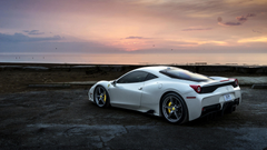Ferrari 458 White HD Cars 4k Wallpapers Image Backgrounds