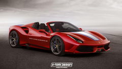 Ferrari 488 Spider Speciale Aperta Rendered But Will It Be