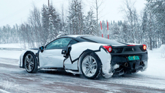 Is This A Hybrid Ferrari 488 Prototype