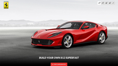 Ferrari 812 Superfast Car Configurator Is Up and Running