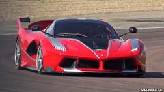 Ferrari FXX K PURE Sound Fiorano Circuit Accelerations
