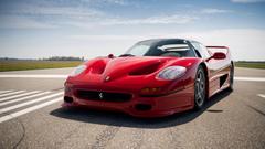 Ferrari F50 4K Wallpapers