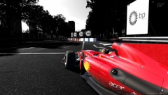 Ferrari Formula 1 Car On The Track Wallpapers For iPhone 4
