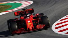 Sebastian Vettel Ferrari SF1000 definitely a step up from last