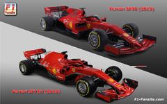 Ferrari SF90 F1 car technical details