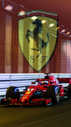 Vettel Ferrari Mobile Wallpapers formula1