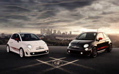 Abarth Fiat 500 wallpapers