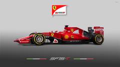 Fernando Alonso during a race in a Scuderia Ferrari wallpapers