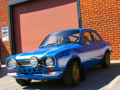 Ford Escort Fast and Furious 6 wallpapers