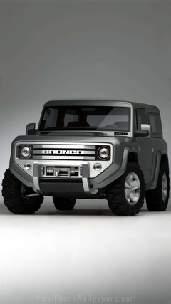 Ford Bronco iPhone 6 6 plus wallpapers