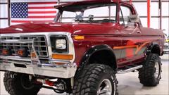 Ford Bronco Burgundy