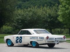 Ford Galaxie 500 XL 427 Lightweight NASCAR Race Car 1963 HD