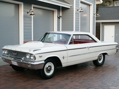 Wallpapers Ford Galaxie 500 Factory Lightweight 1963 Cars